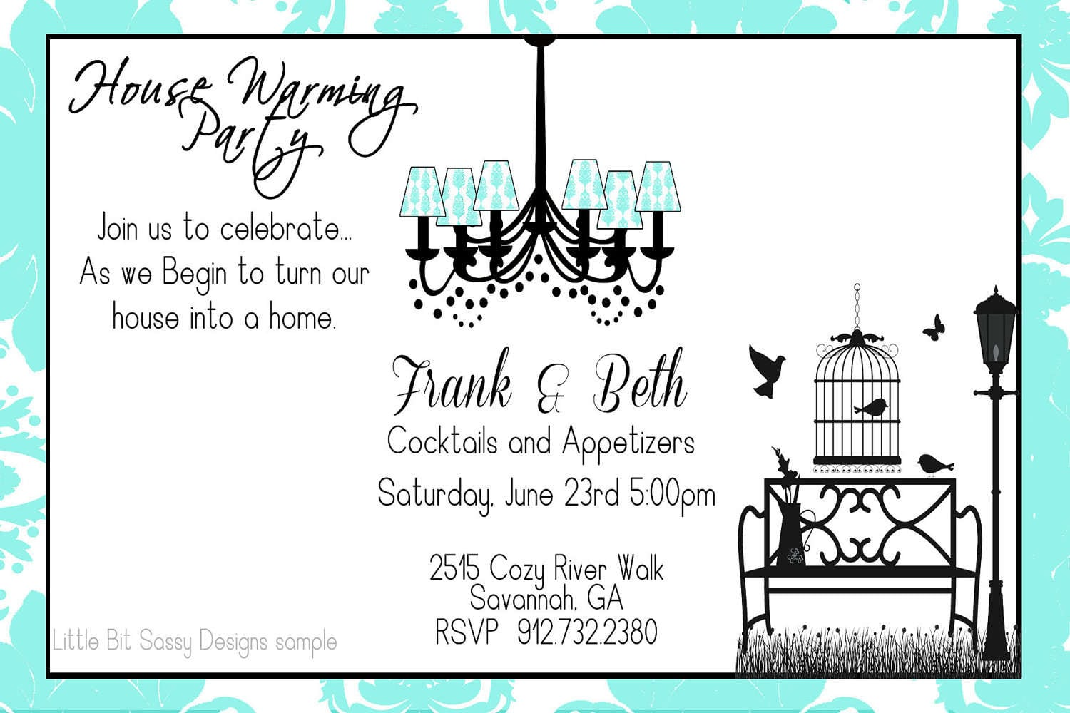 Housewarming Party Invitation Template Free - Mickey Mouse ...