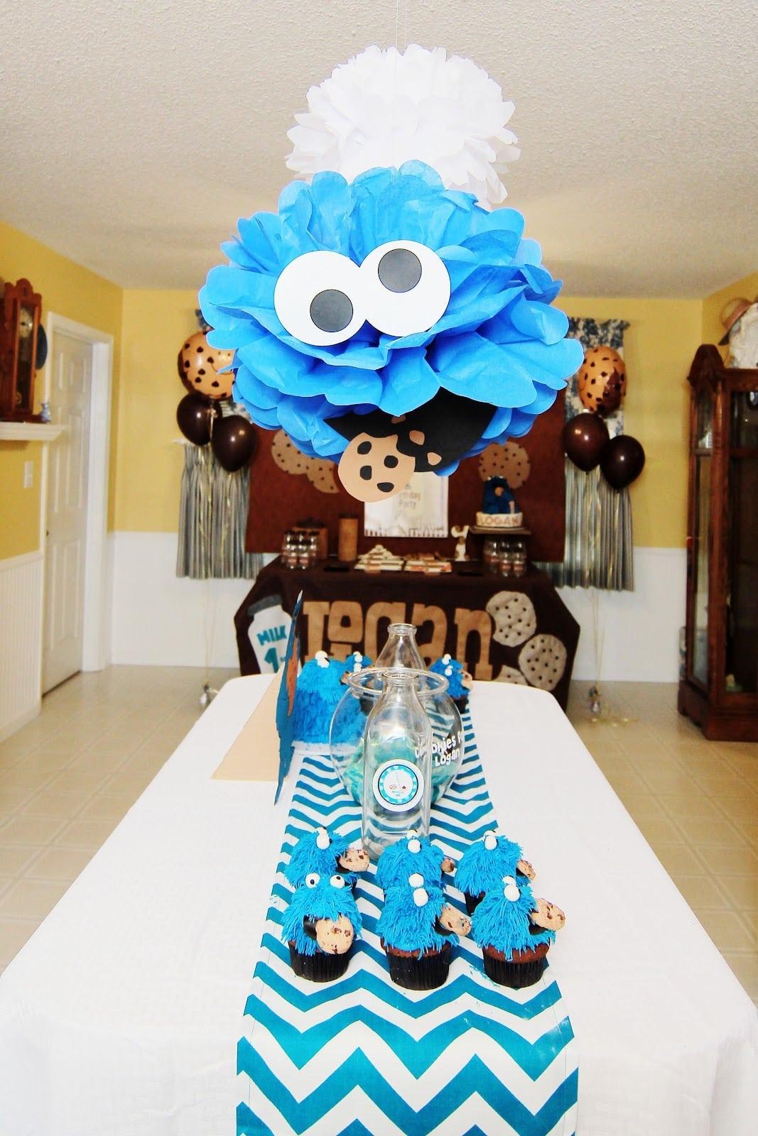 Cookie Monster 1st Birthday