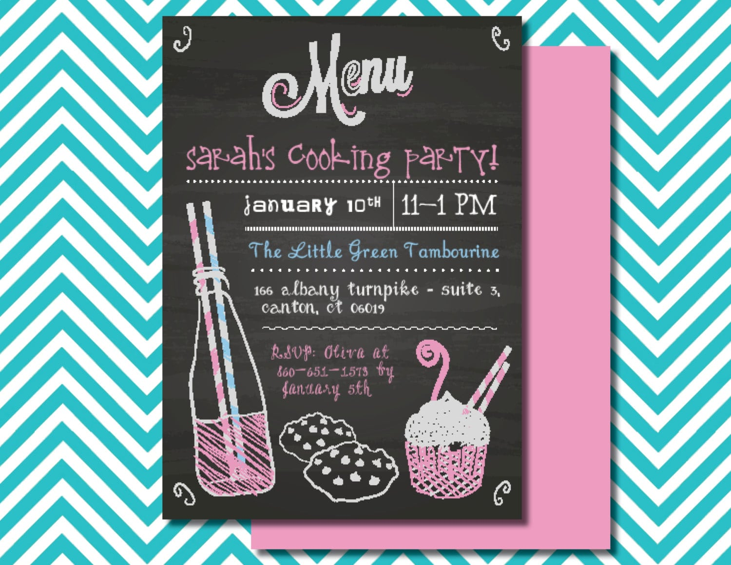 Cooking Party Invitation - Mickey Mouse Invitations Templates