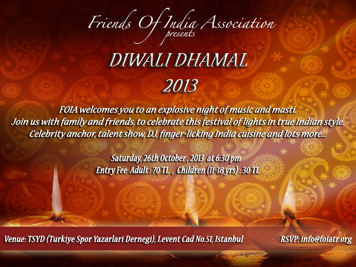 Cool Diwali Invitation And Greeting Card Design Samples To Inspire