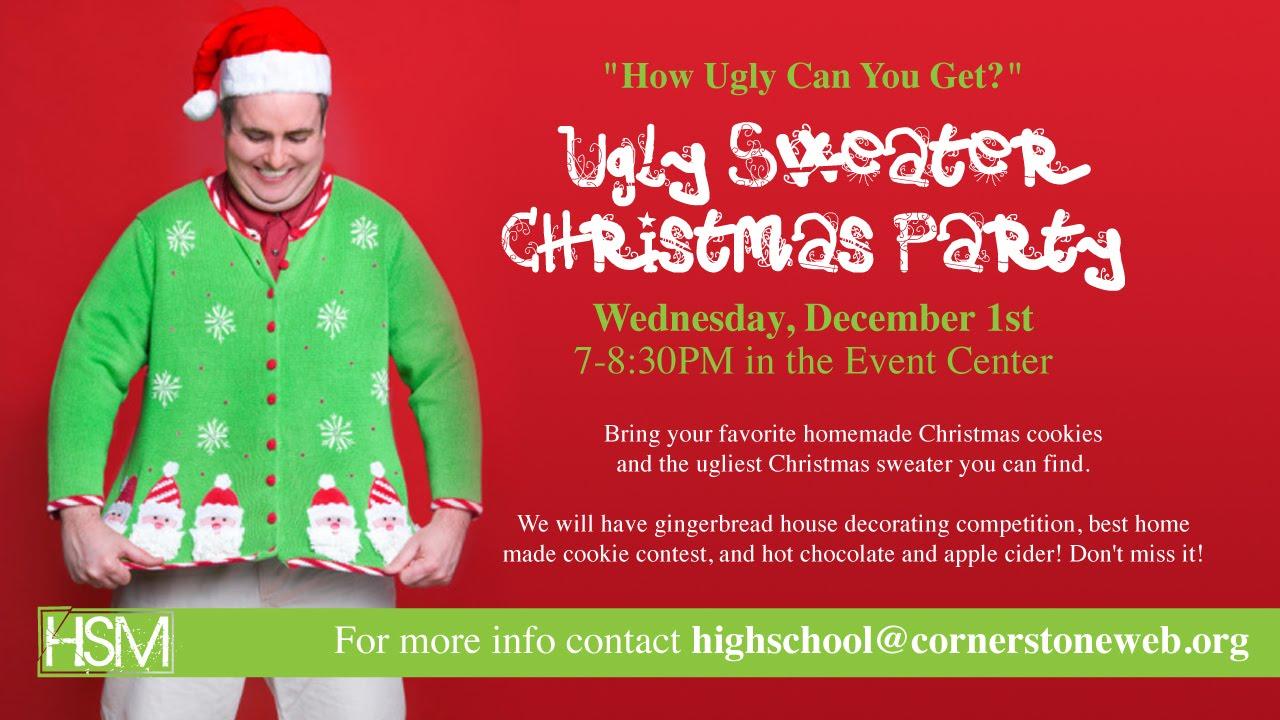 Cornerstone High School Ministry  December Main Event