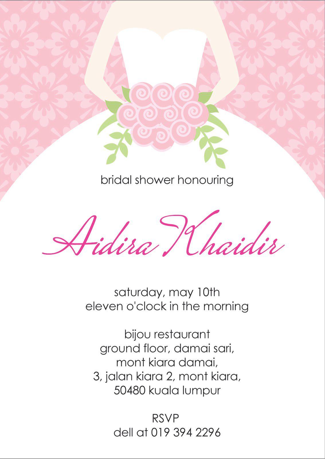 Costco Bridal Shower Invitations