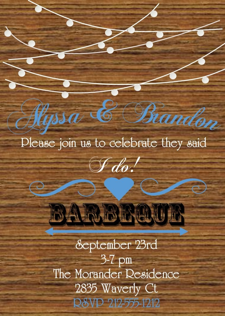 Country And Western Party Invitations New Selections Spring 2017