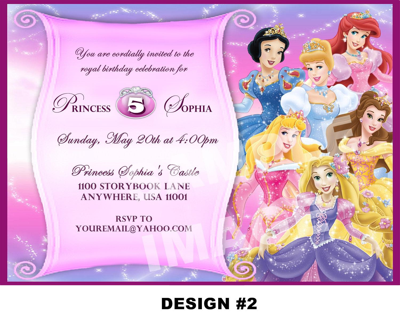 Design Custom Birthday Invitations