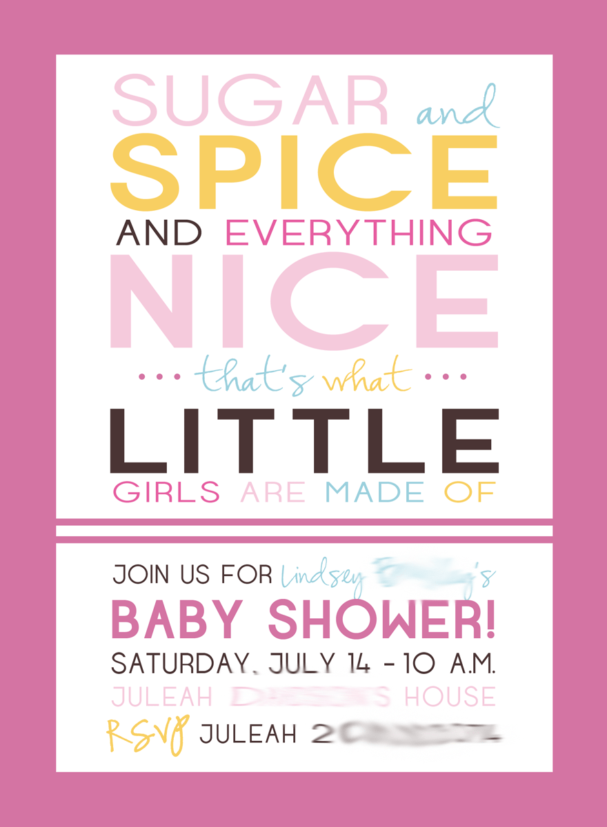 Designs Cute Baby Shower Invitations In Walmart Cute Invitations