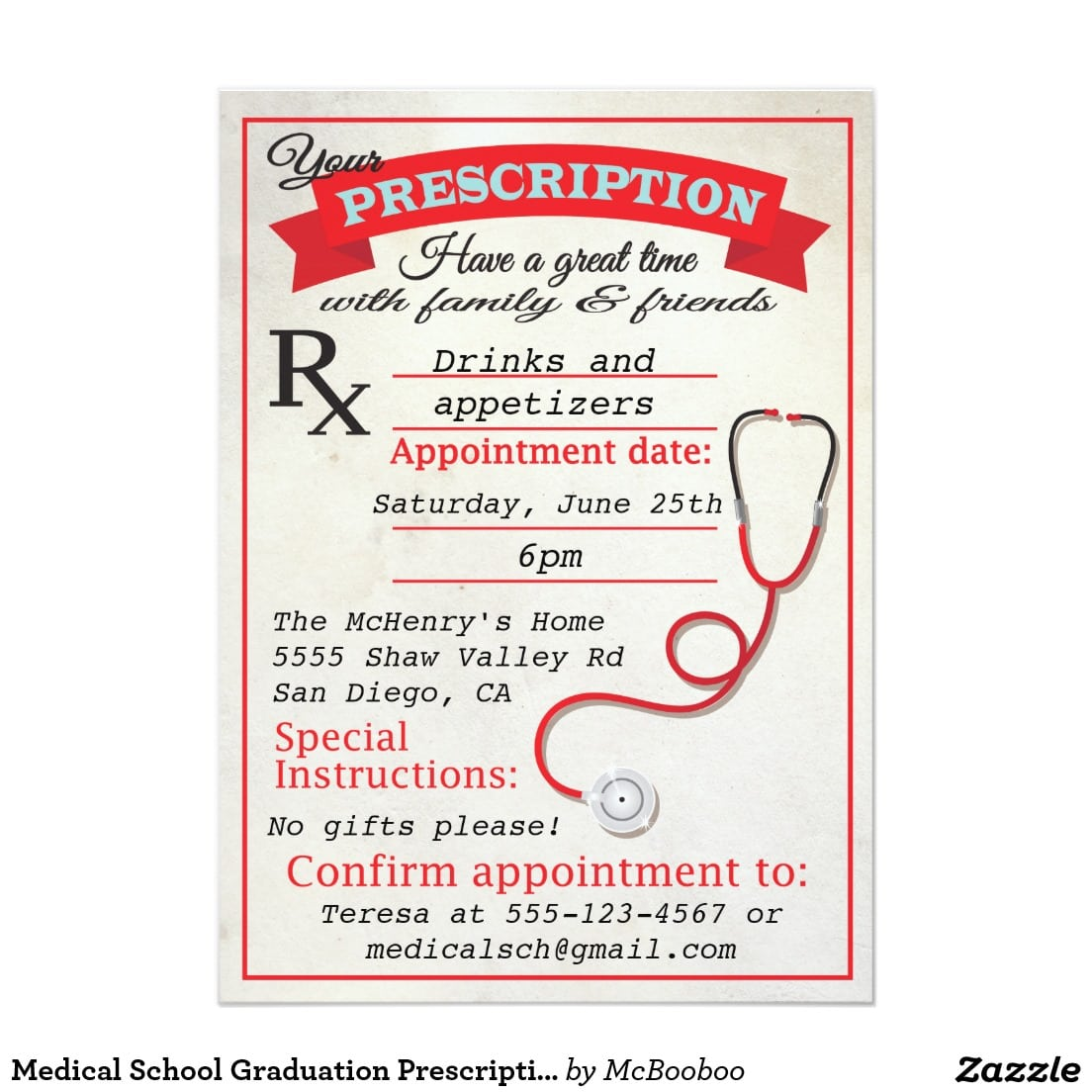 Nursing School Graduation Party Invitations - Mickey Mouse ...