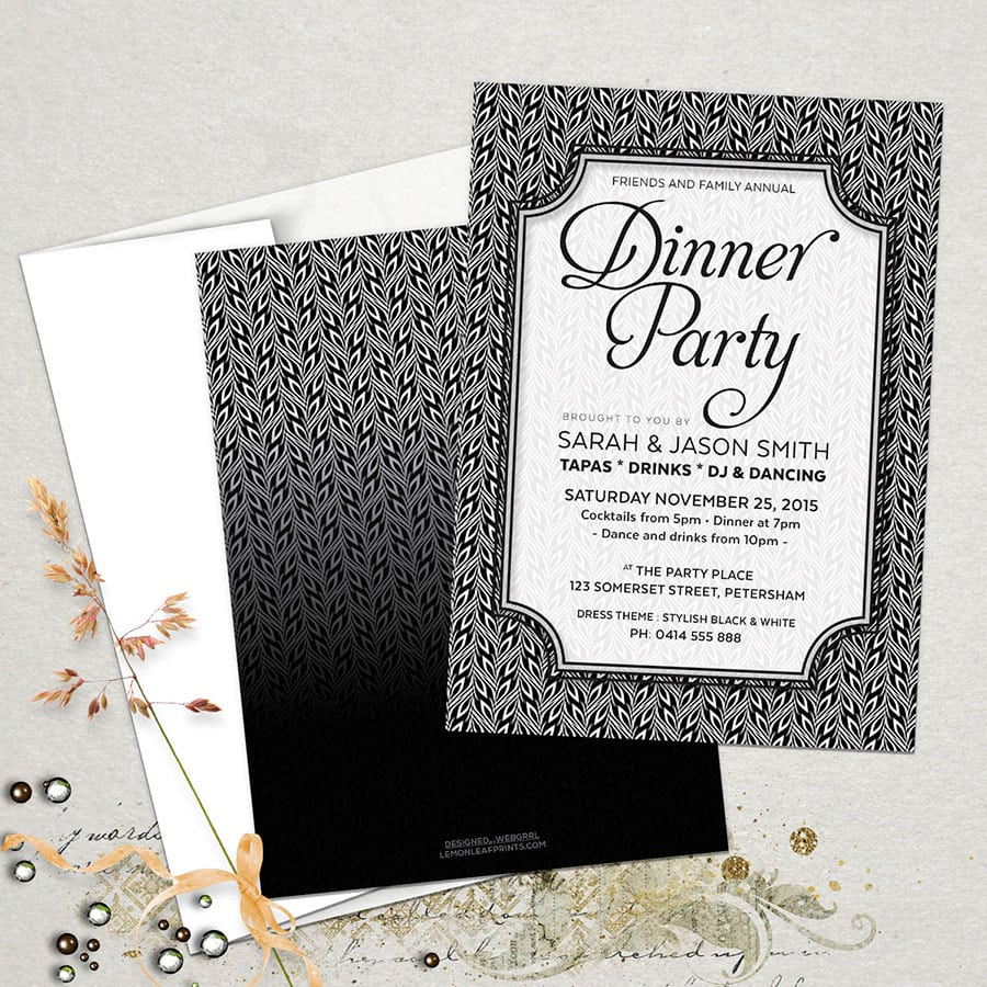 Dinner Party Invitations Fabulous Dinner Party Invitations 60 For