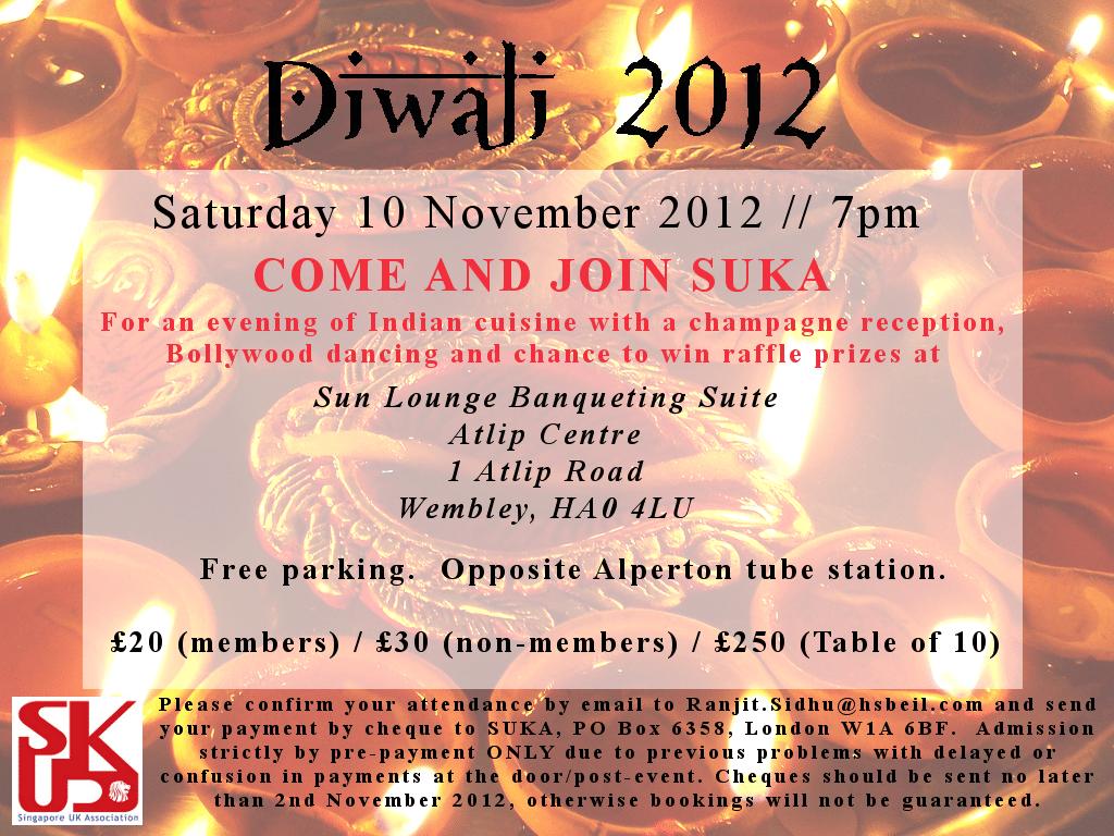 Diwali Party Invitations