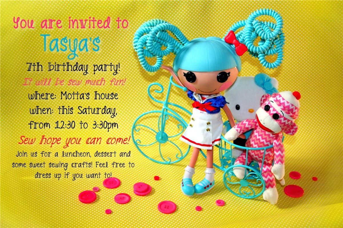 Diy Lalaloopsy Party