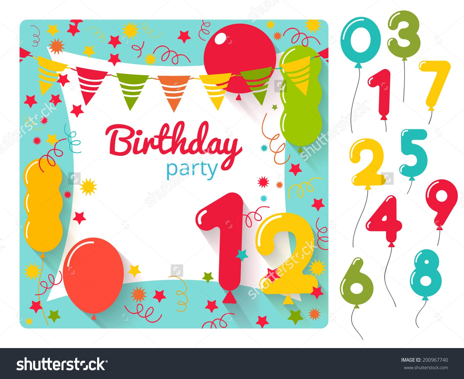 Doc  648568  Birthday Party Invitation Template Word – Star
