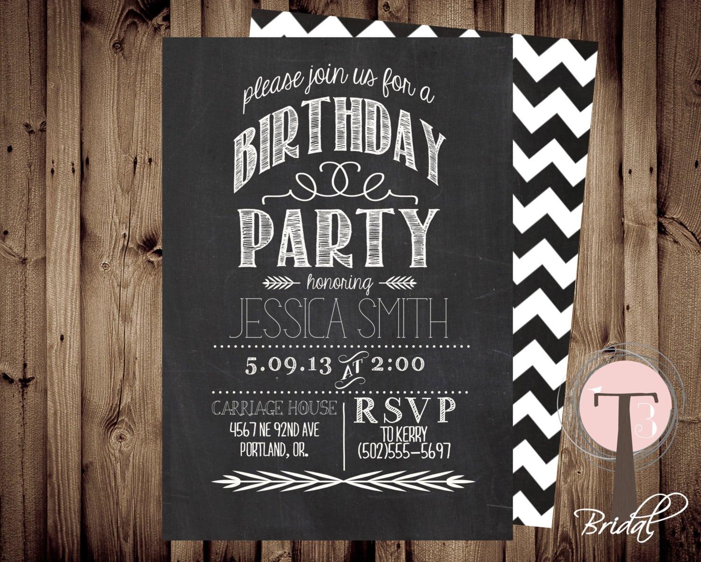 Doc    21st Party Invitation Templates – Top 14 21st Birthday
