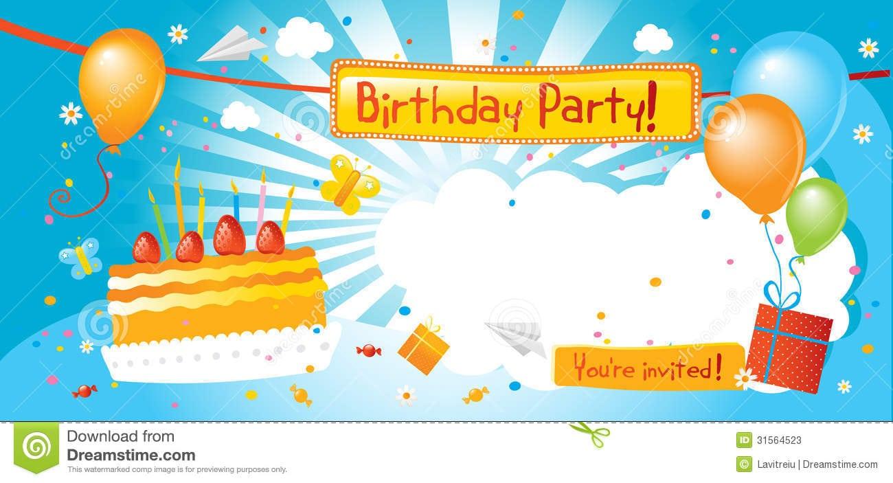 Doc    Birthday Party Invitation Email – Birthday Invitation Email