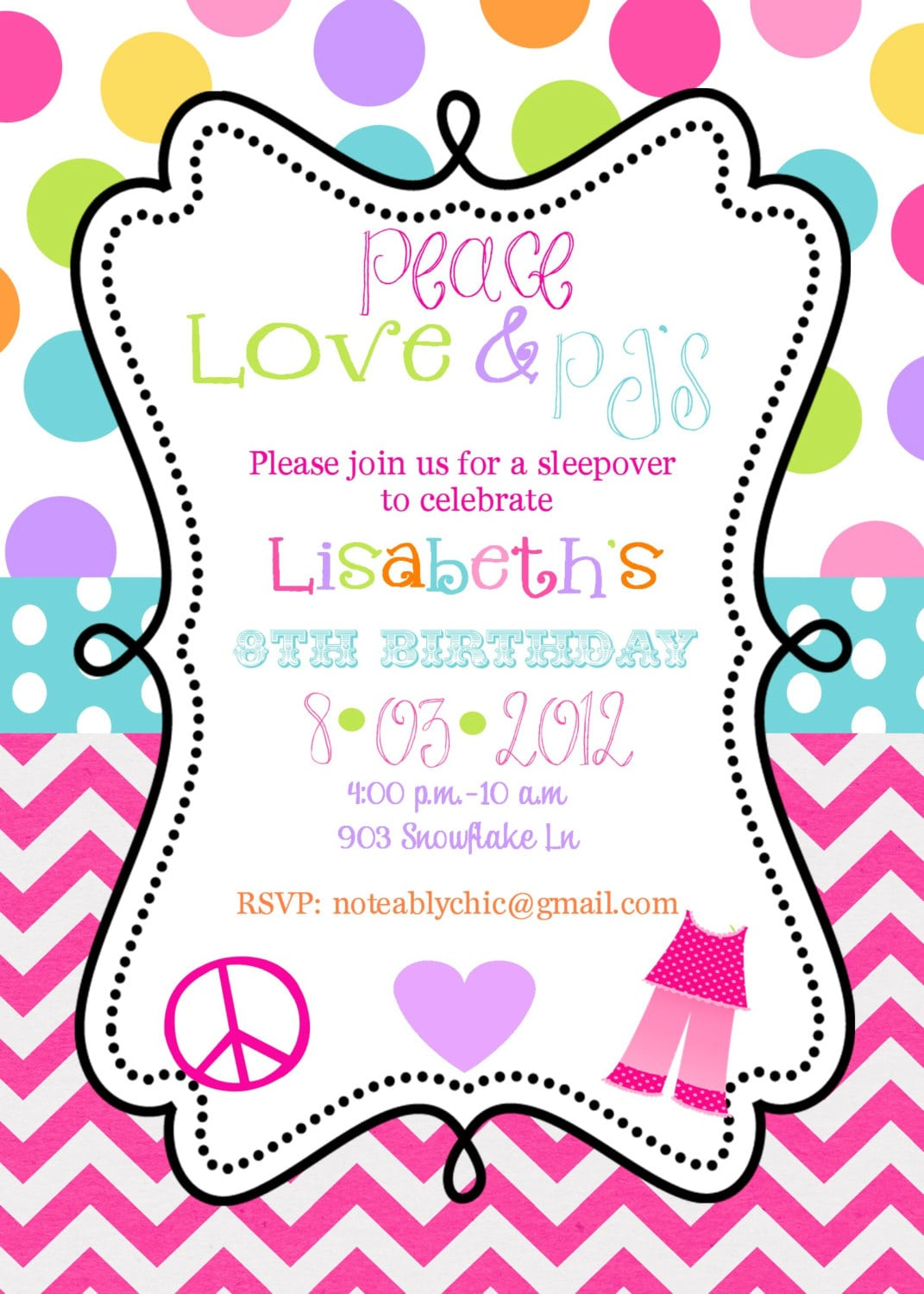 Downloadable Birthday Party Invitations