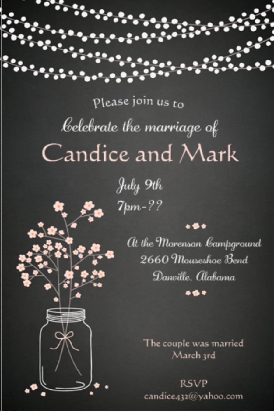 Elopement Party Invitations New Selections Spring 2017