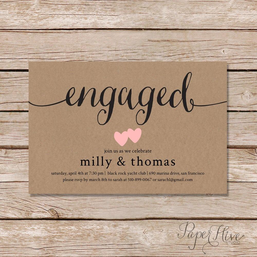 Engagement Invite