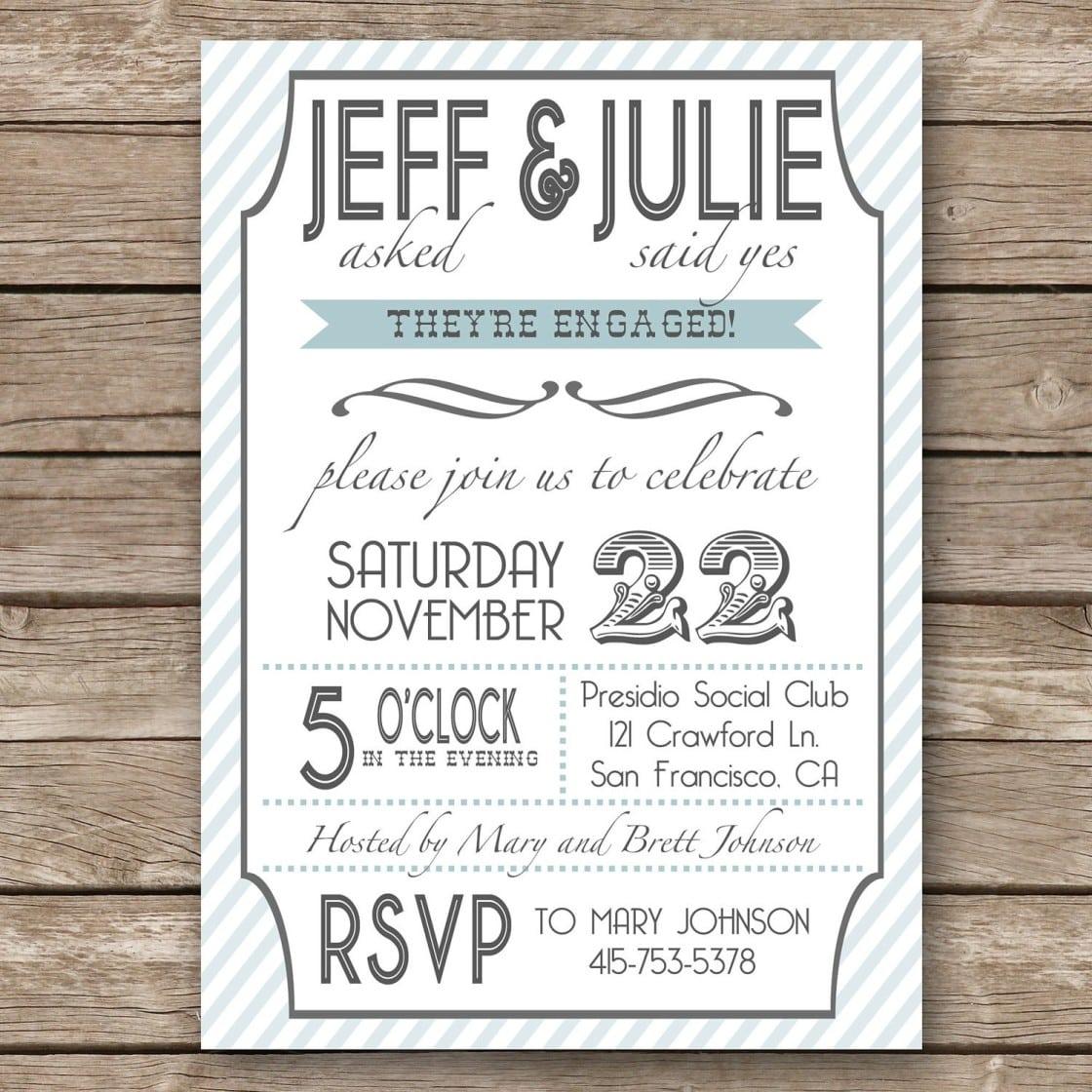 Engagement Party Invitation Wording Ideas – Podpedia Invitation
