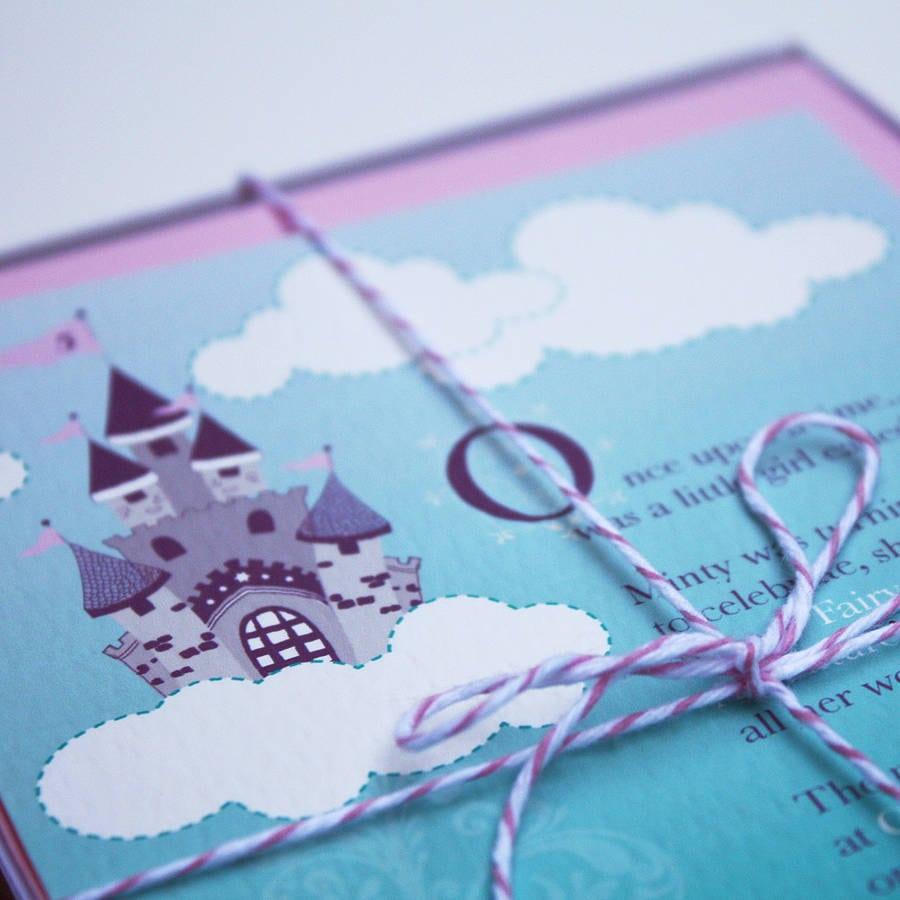 Fairytale Princess Party Invitations By Bonnie Blackbird