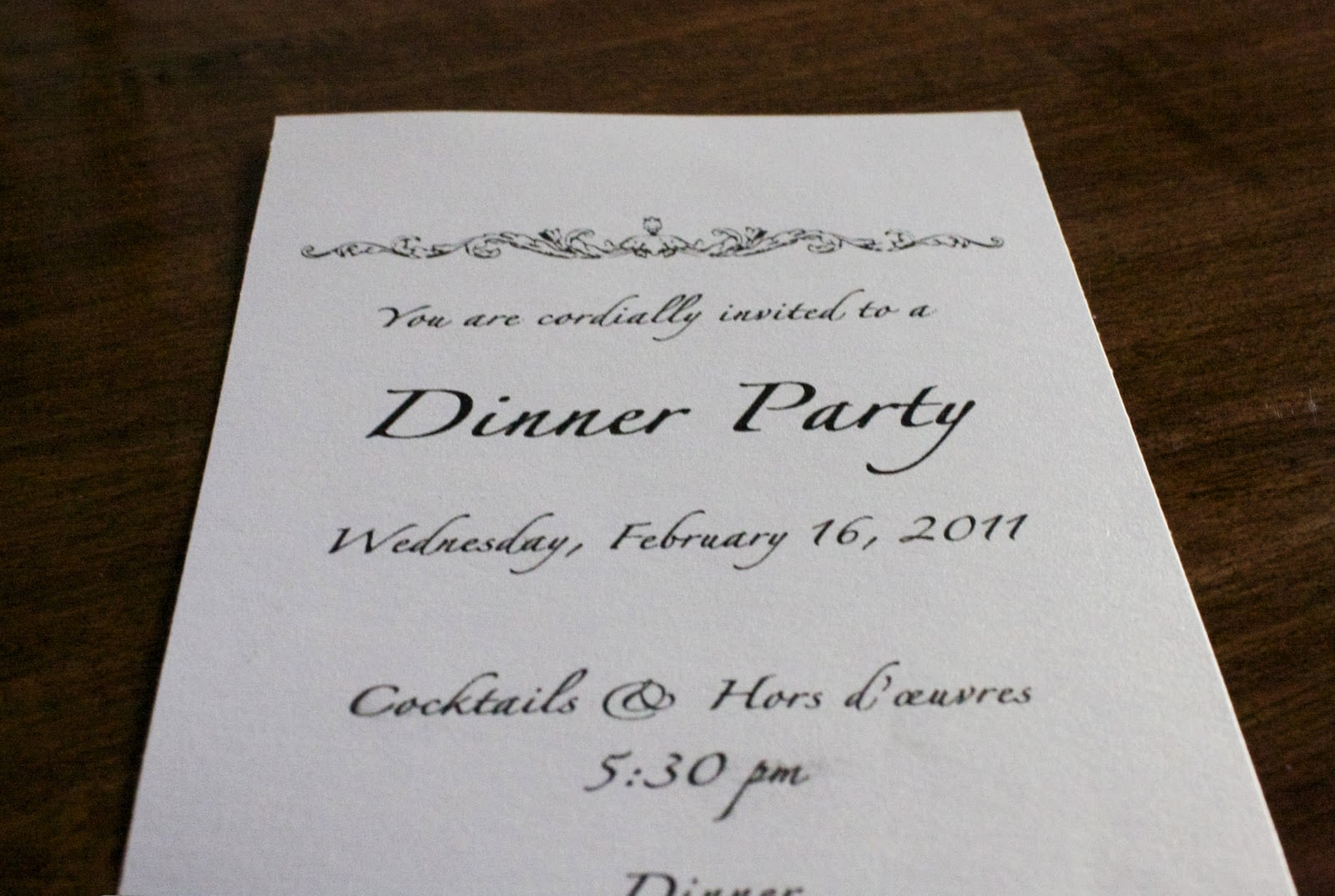 Fancy Dinner Party Invitations. New Yearus Eve Party Games And ...