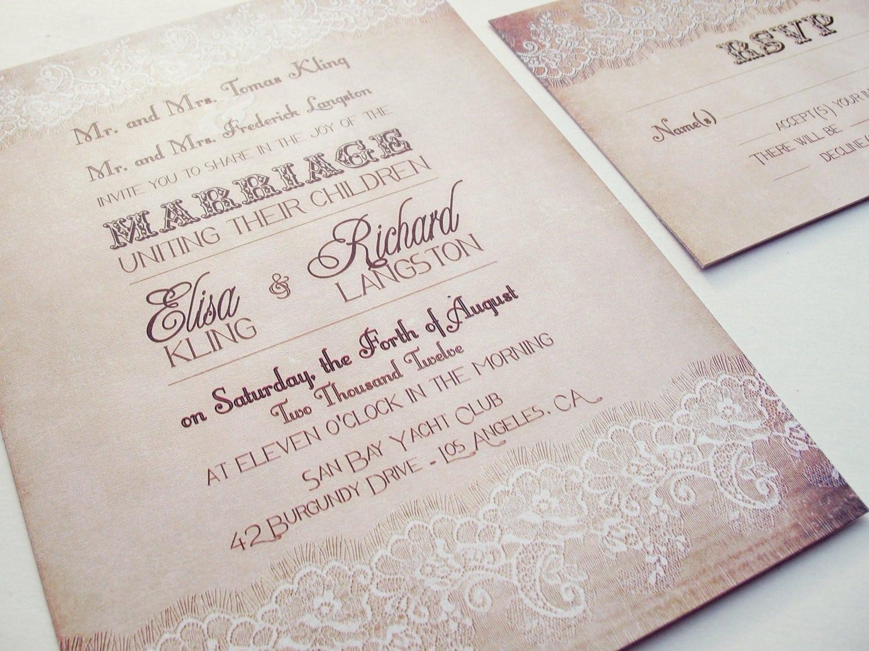 Fascinating Wedding Invitation Templates