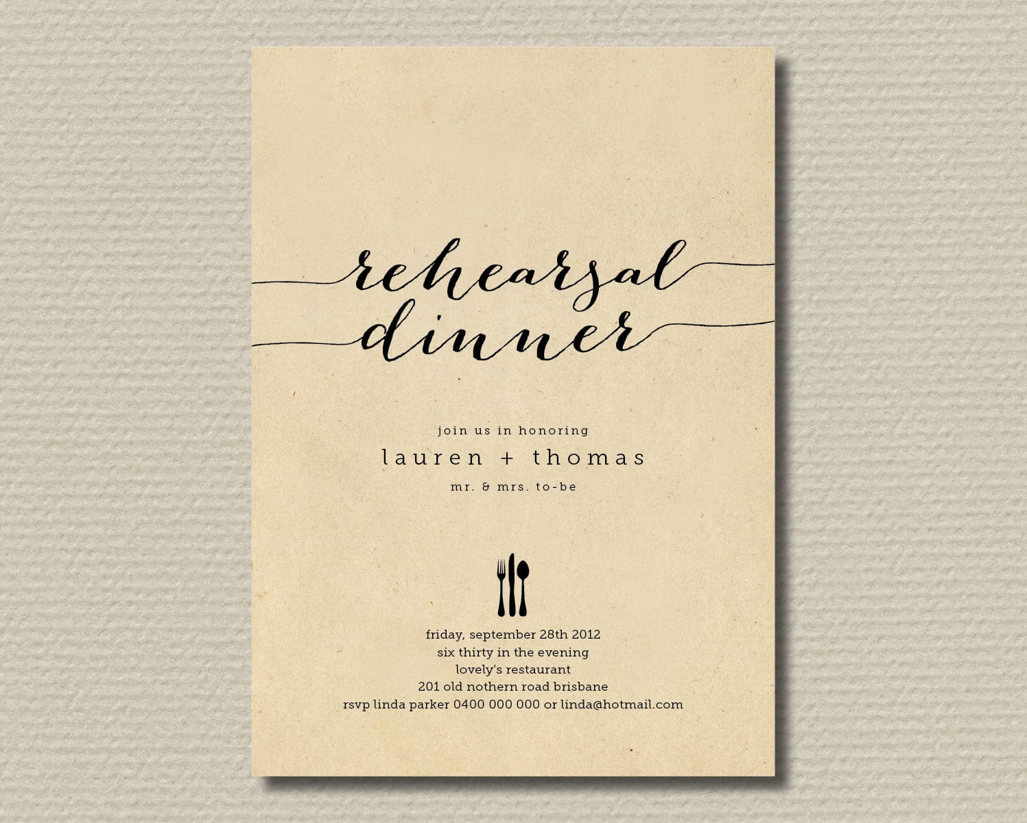 Free Dinner Party Invitation Template Simple Free Dinner Party