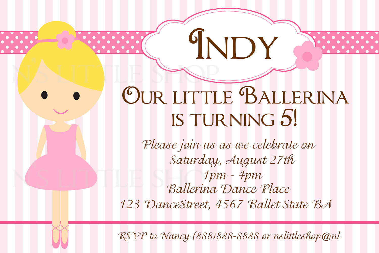Free Printable Birthday Party Invitation Cards
