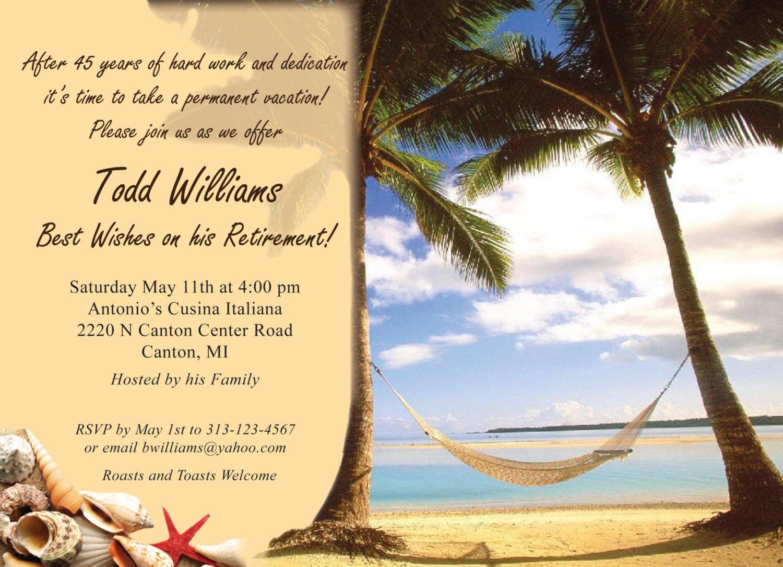 Free Printable Retirement Party Invitations