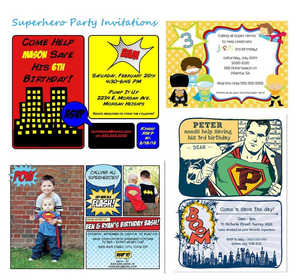 Free Superhero Party Invitations Elegant Free Superhero Party