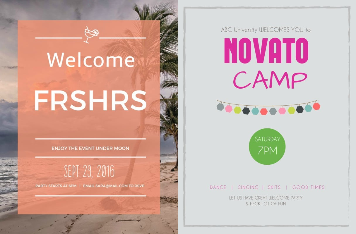 College freshers party invitation mickey mouse invitations templates freshers party sample invitation card designs dj vuh indian stopboris Images