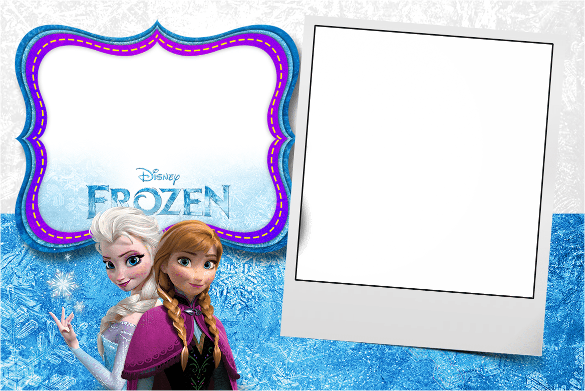 Frozen Party Invitations Templates Free