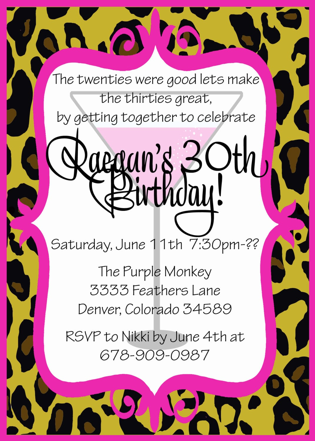 Funny Ideas For 30th Birthday Party Cute Birthday Gift – What to Write in a 30th Birthday Card