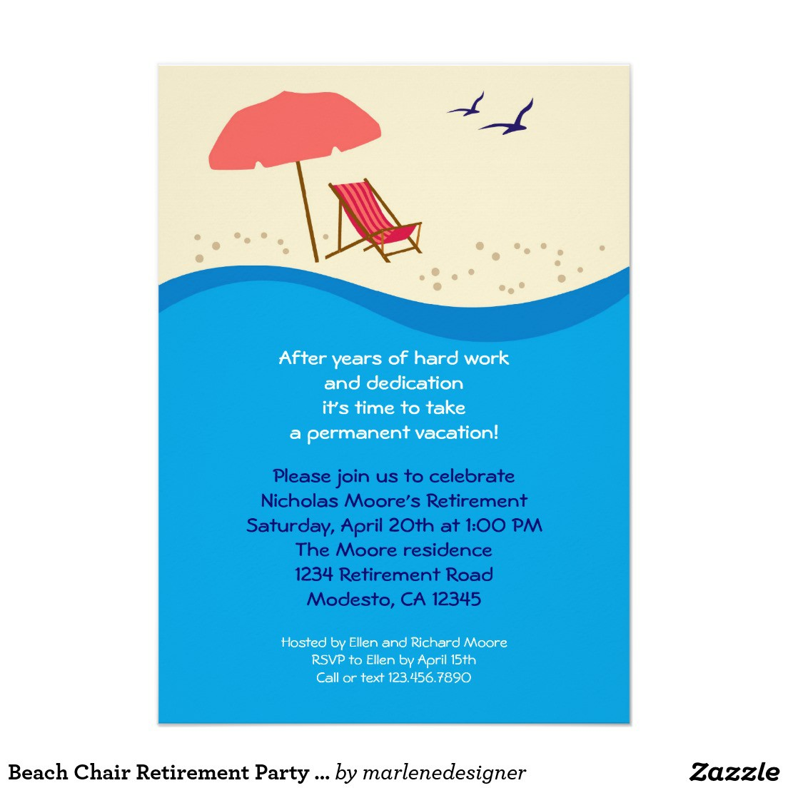 Funny Beach Party Invitation Wording