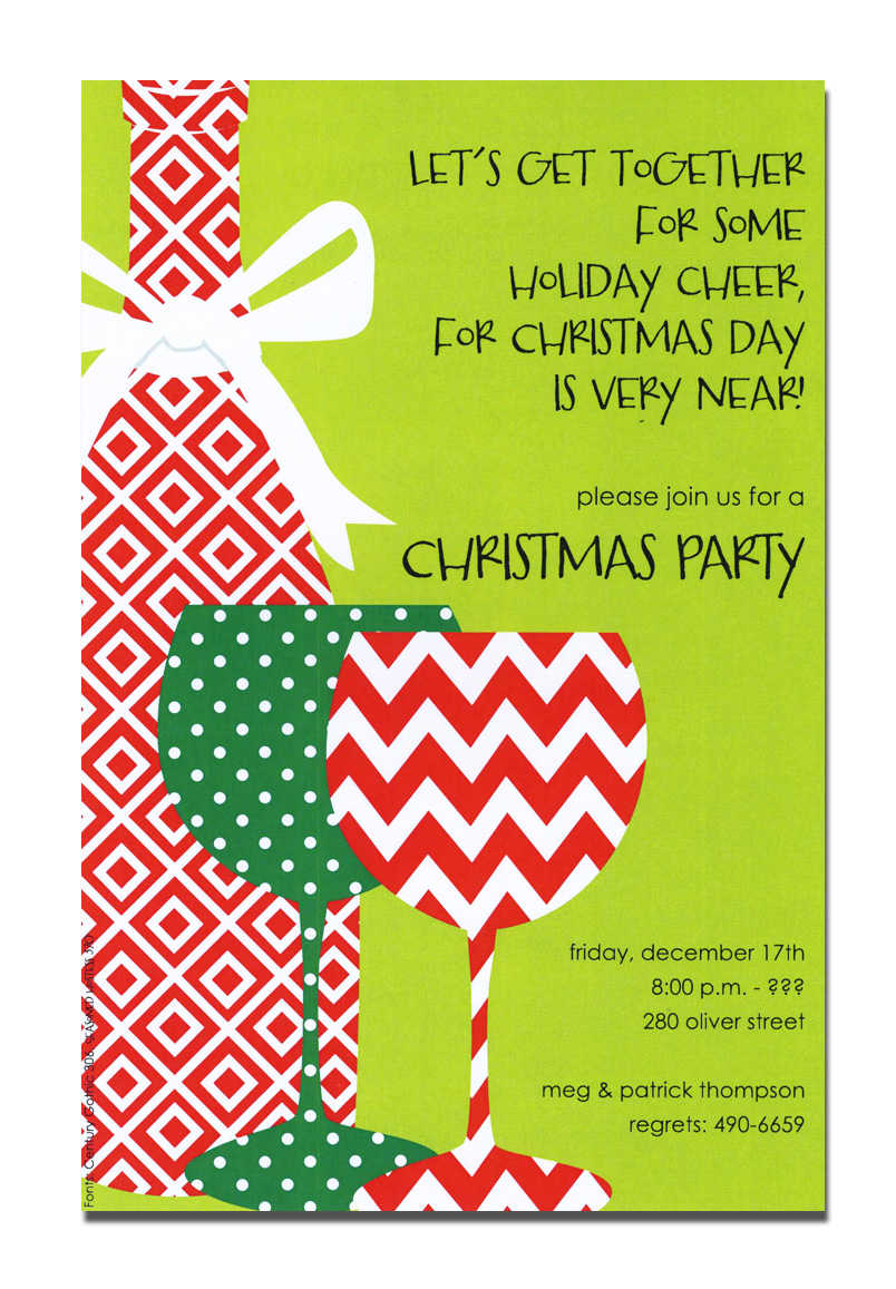 Funny Office Holiday Party Invitation Wording - Life Style By ...