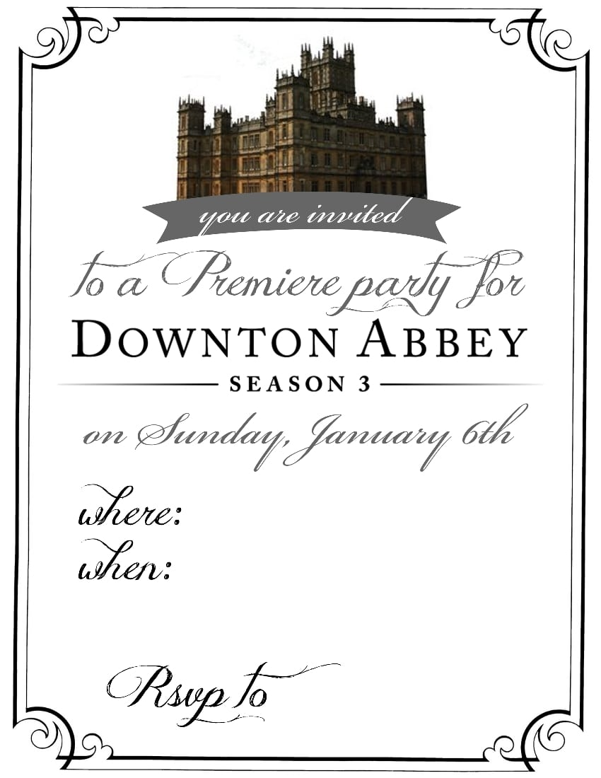 General Party Invitation Card Ideas
