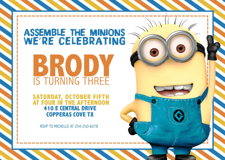 Girl 3rd Birthday Party Invitation