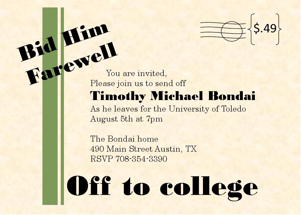 Funny Farewell Party Invitation Mickey Mouse Invitations Templates