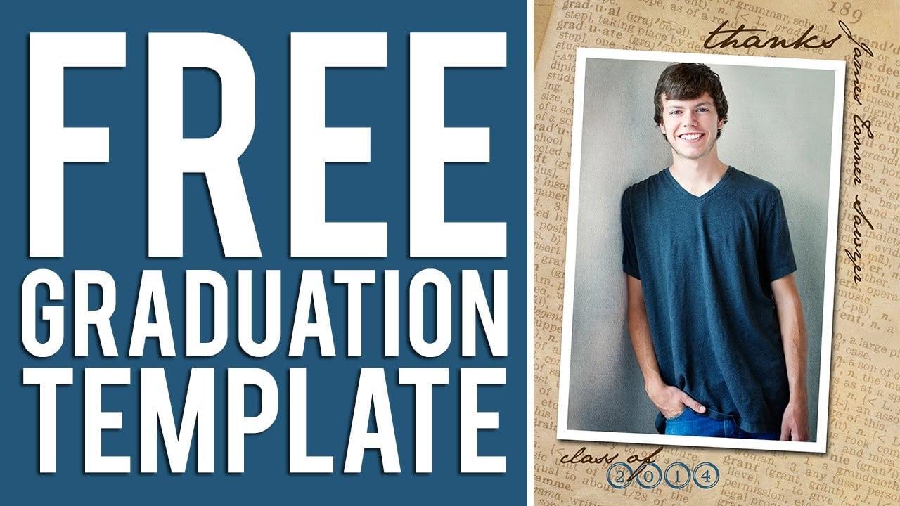Graduation Announcement Templates Free  Free Graduation Invitation