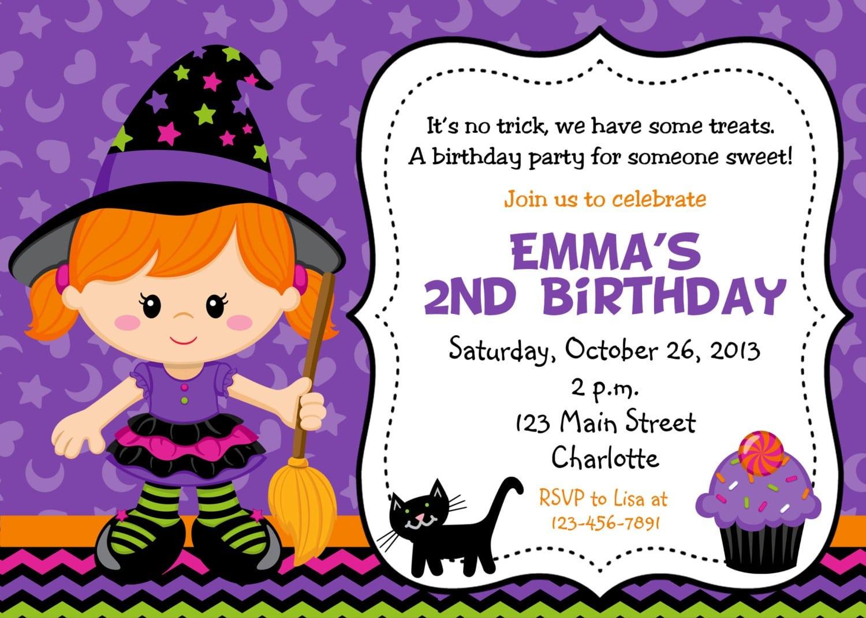 Halloween Kids Party Invitations Elegant Halloween Kids Party
