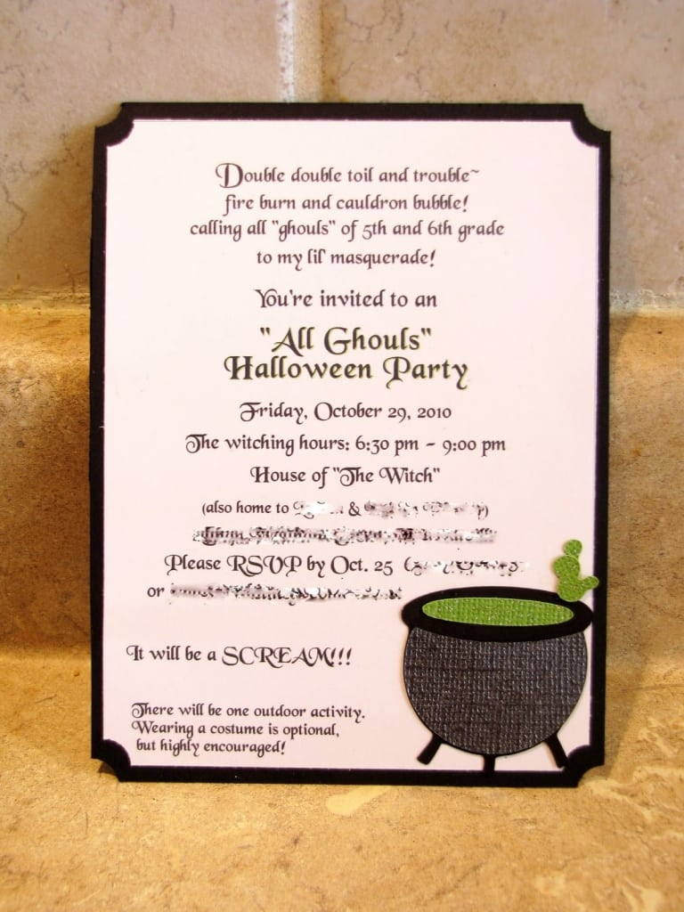 Stunning Wording For Halloween Party Invitations Images - Invitation ...