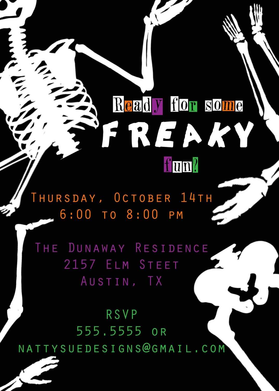 Halloween Party Invitation Wording Ideas Halloween Party
