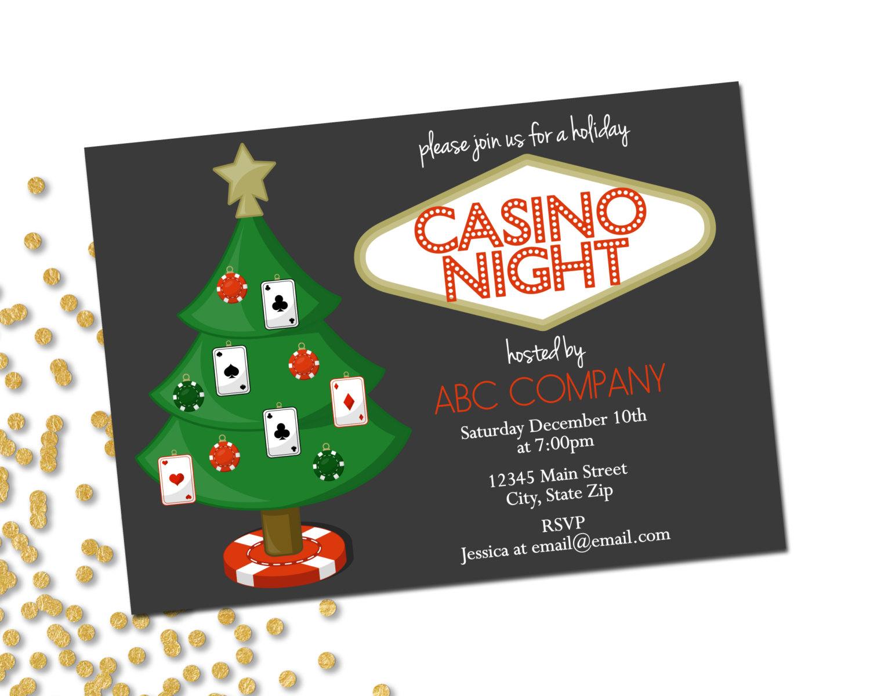 Handmade casino night invitations stopboris Image collections