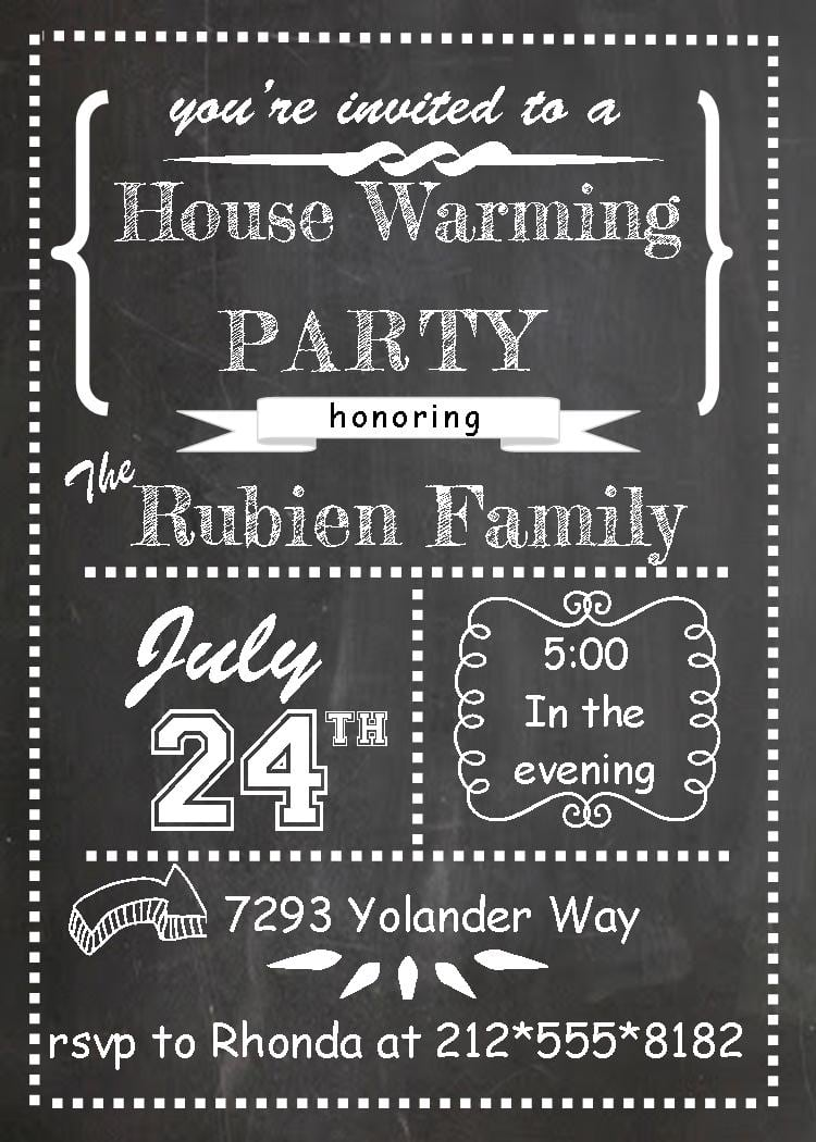 Housewarming And Open House Invitations New Selections Spring 2017