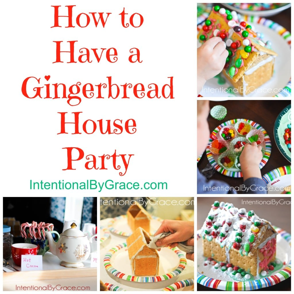 How To Have A Gingerbread House Party