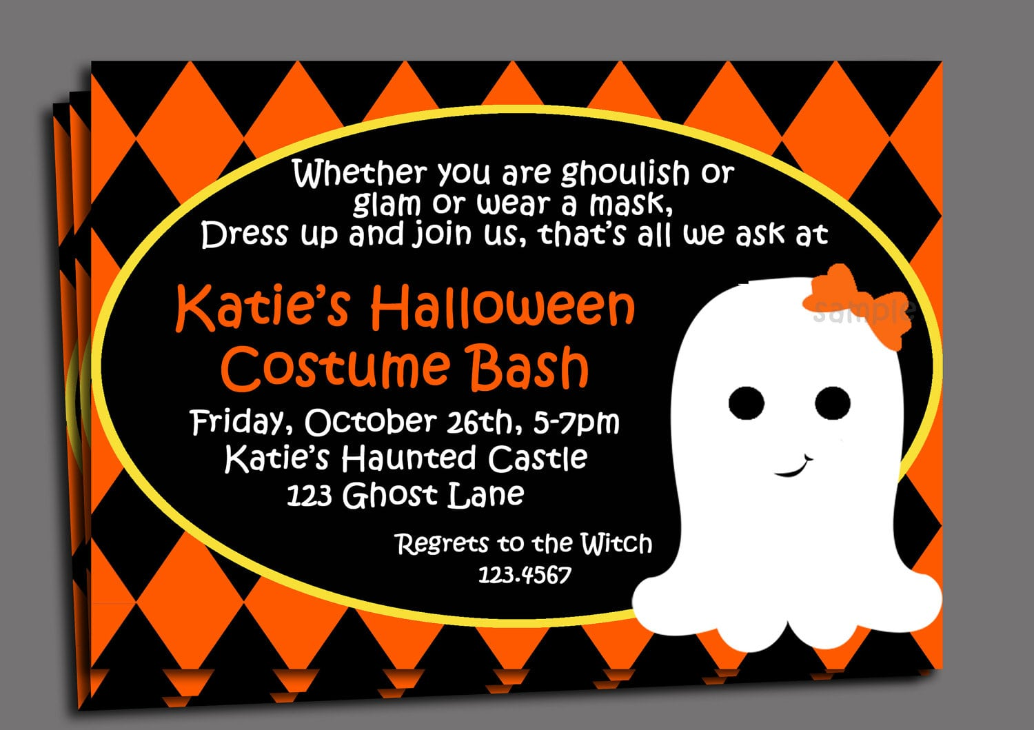 Impactful Kids Halloween Party Invitation Wording On Awesome