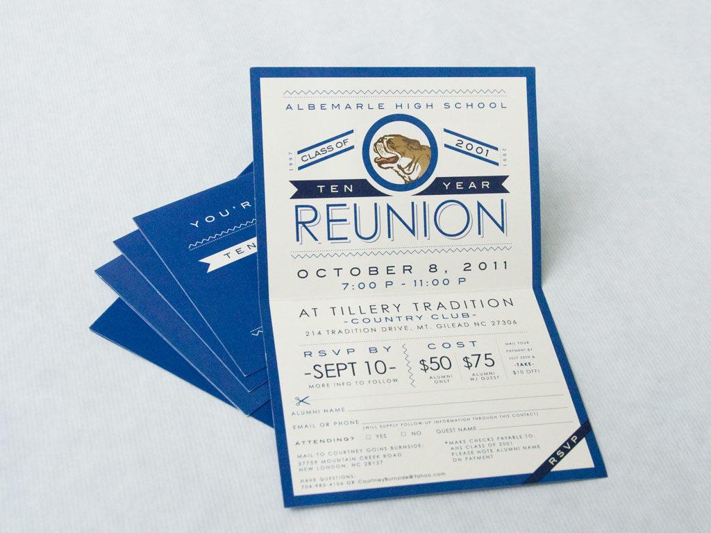 Reunion Party Invitation - Mickey Mouse Invitations Templates