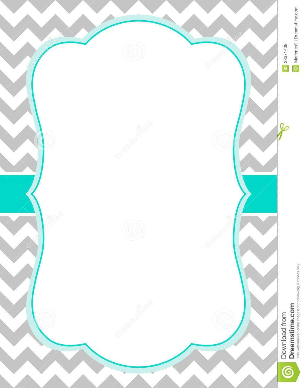 Incredible Free Blank Party Invitation Templates 8 According