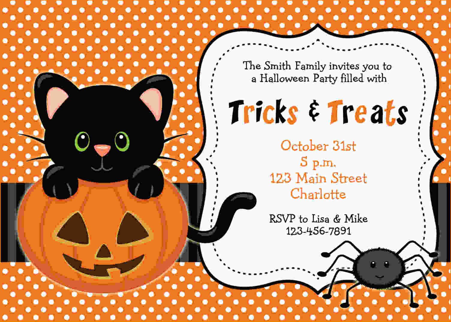 Invitation For Halloween Party Pictures About Invitation For