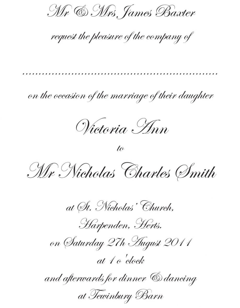 Invitation Letter For Lunch Party