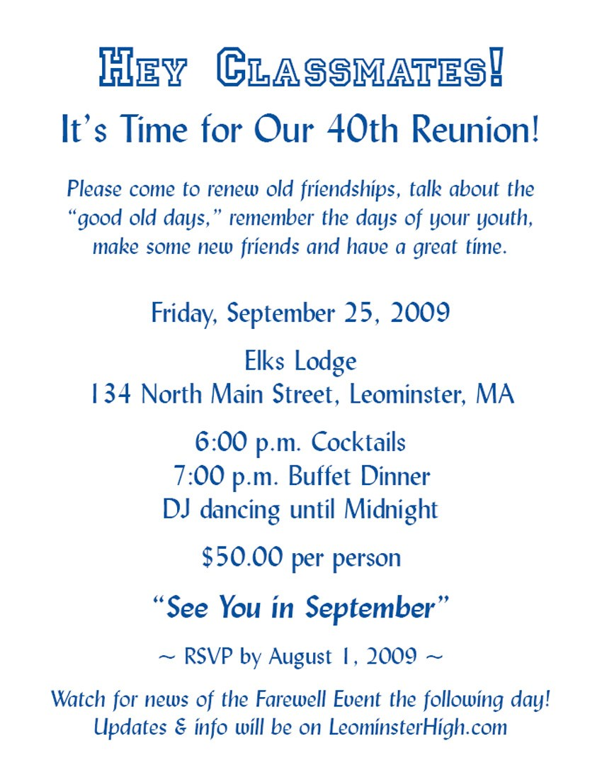 Reunion Party Invitation Mickey Mouse Invitations Templates