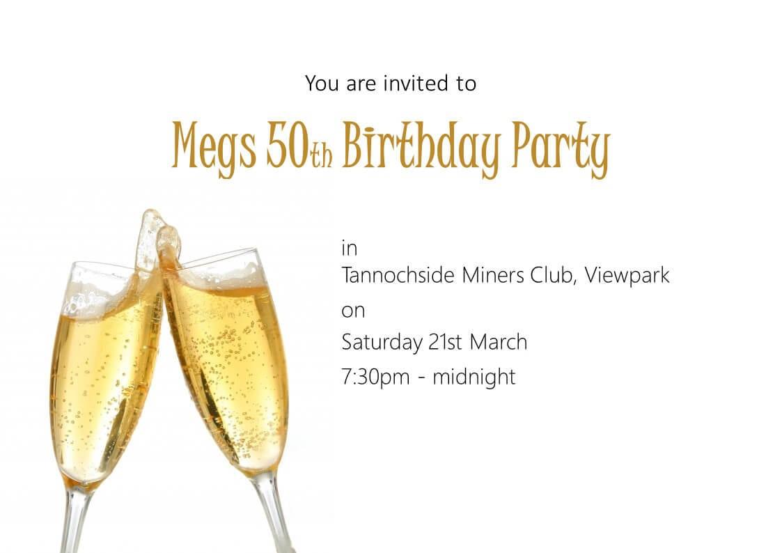 Invitation Printing Glasgow