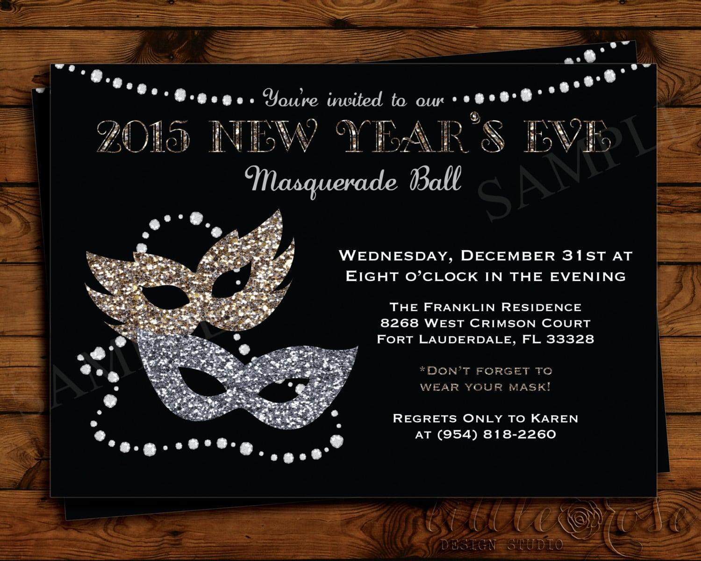 Invitation Wording Masquerade Ball
